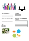 Human Rights Activity Sheet