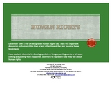 Human Rights Bookmarks Template – Start the Discussion!