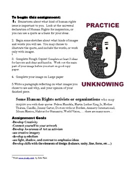 Human Rights Perspective Artwork
