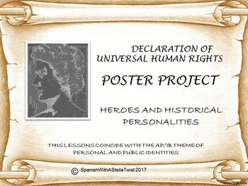 Heroes Human Rights Poster Project