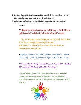 Human Rights Project to Personalize the Bill of Rights and to Inspire