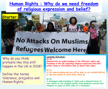Human Rights + Religious Prejudice