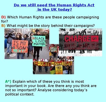 Human Rights: UK