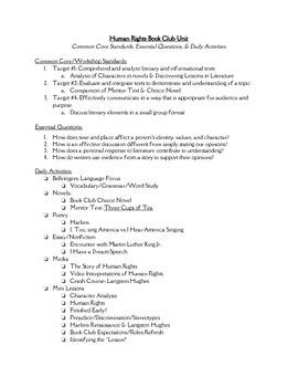 Human Rights Unit Summary