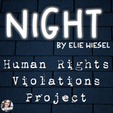 Human Rights Violations Project Based Learning (PBL) for Night by Elie Wiesel