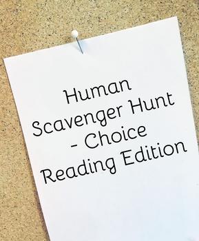 Human Scavenger Hunt - Independent Reader Edition