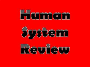 Human Systems Review PPt Handout