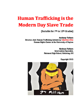 Human Trafficking is the Modern Day Slave Trade
