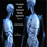 Human and Animal Body Systems:  Doodle Dat Notes with PowerPoint Presentation