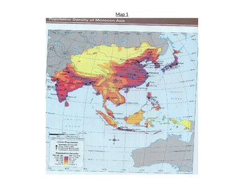 Human and Physical Geography of Asia Mapping Activity