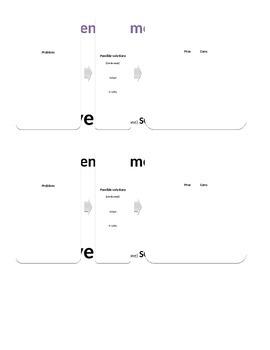 Human-environment interaction FLOW CHART