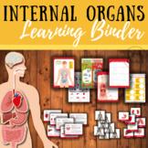 Human internal organs learning binder
