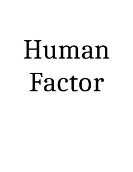Human or Physical Factor Game (Population and Migration)
