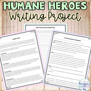 Heroes Writing Project