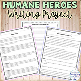 Heroes Research and Writing Project includes Planning Page