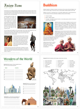 Humanities Bundle (Ancient Civilizations, Religions and Wonders of the World)