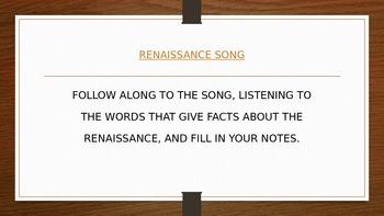 Humanities Renaissance Introduction PowerPoint