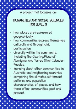 FREEBIE Humanities & Social Science Inquiry Project