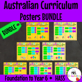 Humanities and Social Sciences Australian Curriculum Poster Bundle {HASS}