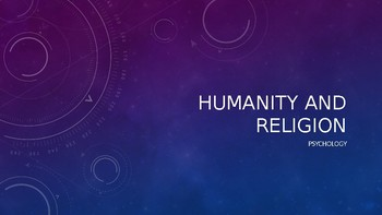 Humanity and Religion