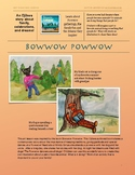 Humanizing Animals: Bowwow Powwow Art Activity (Book is in