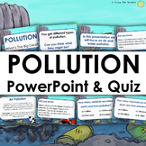 Humans And The Environment: Types of Pollution PowerPoint