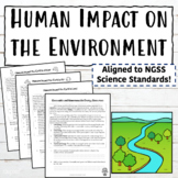 Human Impact on the Environment Lessons and Activities