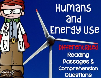 Humans and Energy Use Differentiated NF Reading Passages