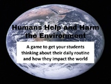 Humans and the Environment Game