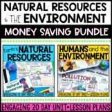 Humans Impact on the Environment & Natural Resources BUNDLE