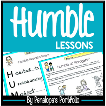 HUMBLE Lessons and Activities - Character Education