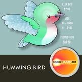 Humming Bird Clip Art
