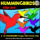 Hummingbird Clip Art for Commercial Use