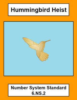 Hummingbird Heist Digital Breakout - Divide Multi-Digit Numbers (6.NS.2)