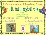 """Hummingbird """"Flew-ency""""  with Closes,  Literacy, Math,SACC and DIBELS Practice"""