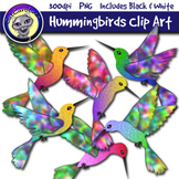 Hummingbirds Clip Art