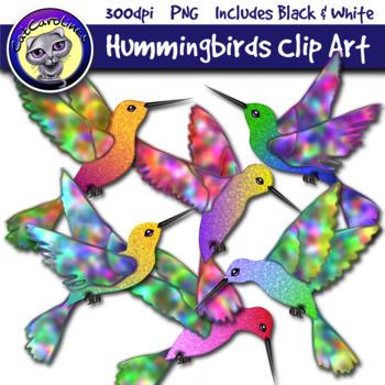Hummingbirds Clip Art