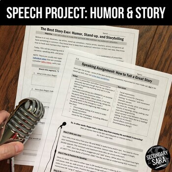 Humor & Storytelling: UPDATED Comedy Activity for Public Speaking!