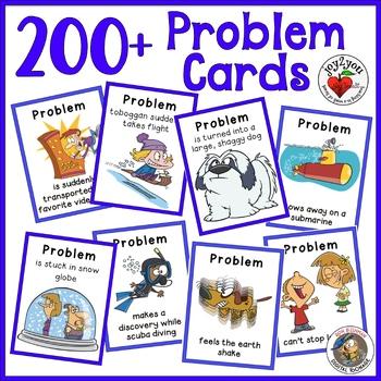 Build-a-Story Card Decks – 312 Humorous Characters, Settings, Plots