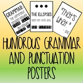 Humorous Grammar and Punctuation Posters {Printable}