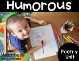 Humorous Poetry {Poetry Unit}