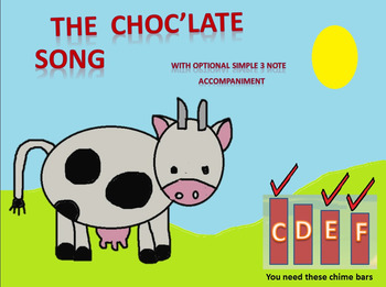 Humorous chocolate song for non- music specialists/specialists video mp3