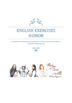 Grade 7/8 English - Humour Writing Lesson Plan