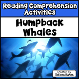 Reading Comprehension Passages Humpback Whales