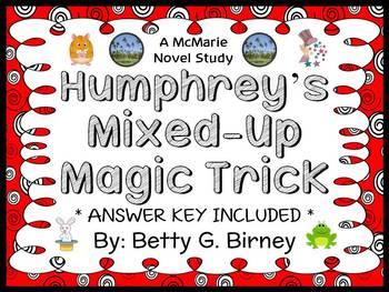 Humphrey's Mixed-Up Magic Trick (Betty G. Birney) Novel Study / Comprehension