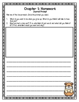 Humphrey's Mixed Up Magic Trick: Comprehension Questions and Journal Prompts