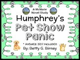 Humphrey's Pet Show Panic (Betty G. Birney) Novel Study / Comprehension (22 pgs)