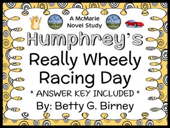 Humphrey's Really Wheely Racing Day (Betty G. Birney) Novel Study