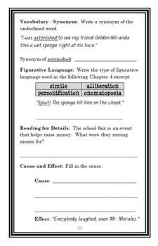 Humphrey's School Fair Surprise (Betty G. Birney) Novel Study / Comprehension