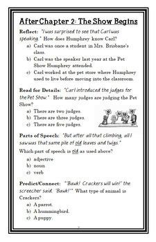 Humphrey's Tiny Tales BIG BUNDLE (Betty G. Birney) 7 Novel Studies  (142 pages)